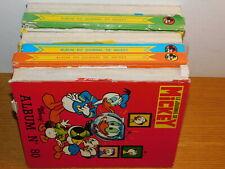 LOT 6 Album journal de Mickey 80-85-87-92-94-106 BD walt disney VINTAGE magazine