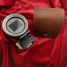 Linhof Vintage viewfinder with in leather case