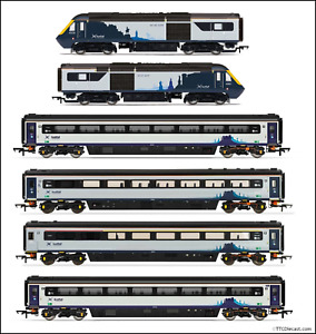 Hornby Scotrail Inter7City HST Power Car/Coaches, Selection available, U choose!