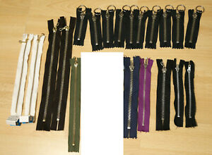 Metal Zips closed end for clothes making YKK x20