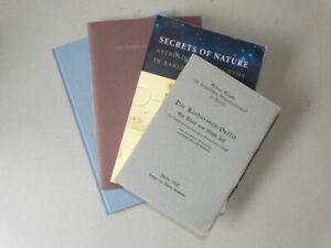 4 Werke - Bücher Bibliographie Alchemie Buchbinder Handwerk Typografie - 1960