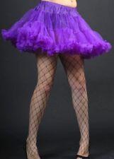 Womens Deluxe Gothic Purple Full Petticoat