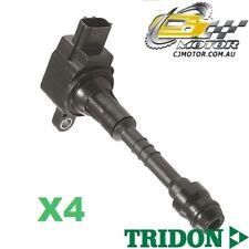 TRIDON IGNITION COIL x4 FOR Nissan Pulsar N16 06/03-01/06, 4, 1.8L QG18DE