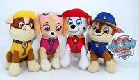 "New 1 Pcs 8 "" Paw Patrol Plush Stuffed Animal Toy Marshall, Rubble or Skye"