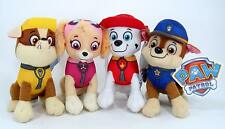 "New 1 Pcs 8 "" Paw Patrol Plush Stuffed Animal Toy Marshall, Rubble or Skye"