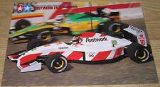 Tamiya Footwork FA13 Mugen Honda Poster NEW 58114 GENUI
