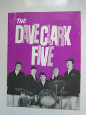 DAVE CLARK FIVE  Kinks Hollies Mojos 1964 Uk concert program