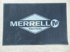 """MERRELL TACTICAL Logo Rug LARGE Advertising Store Mat Sign 36""""X24"""" New HEAVYDUTY"""