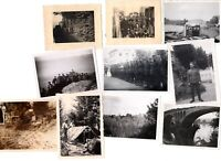 *Bargain Lot* Lot Of 10 WWII German Photos Eastern Front Wehrmacht Soldiers L9