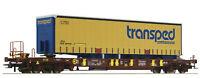 """Roco H0 76223 Taschenwagen T3 """"Transped"""" AAE """"Neukonstruktion 2019"""" NEU + OVP"""