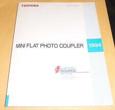 Vintage 1994 TOSHIBA Mini Flat Photo Coupler Data Book