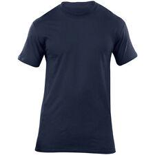 Camicie casual e maglie da uomo blu con girocollo