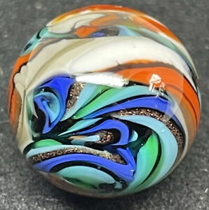 """End-Of-Day Marble, 11/16""""; Signed BB 2020"""