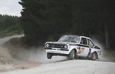FORD ESCORT RALLY POSTER A4 260GSM