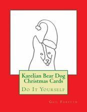 Karelian Bear Dog Christmas Cards: Do It Yourself