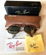 New Vintage RAY-BAN B&L W1524 Gatsby DLX Style1 Amber/Gold Sunglasses NIB G-15