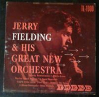 """JERRY FIELDING & His Great New Orchestra RARE 1954 10"""" LP Trend TL-1000 VG"""