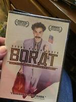 BORAT DVD New Sealed Sacha Baron Cohen Comedy Kazakh Documentary