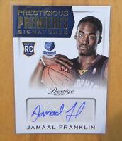 Jamaal Franklin 2013-14 Panini Prestige Prestigious Premieres Rookie Auto