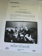 Beastie Boys press kit w 8x10 photo 5 pgs