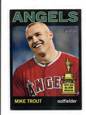 MIKE TROUT 2013 TOPPS HERITAGE #430 ALL-STAR ROOKIE BLACK SP (RARE) FC1742
