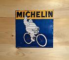 Michelin Cuadrado Vintage Retro Cartel Metal Placa de pared