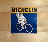 Michelin Square Vintage Retro ENAMEL METAL TIN SIGN WALL PLAQUE