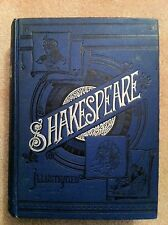 Shakespeare Art Edition 1889 Comedies, Tragedies, etc & Shakespearean Quotations