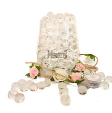 20g Wedding Party Crystal Water Beads Table Centrepiece Vase Decoration + LED