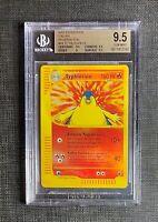 Pokemon BGS 9.5 (I T A L I A N) Typhlosion Rev. Foil Expedition #64/165 Gem Mint