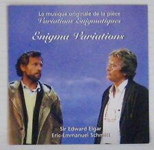Enigma Variations CD Sir Edward Elgar Alain Delon