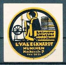 608955) Vignette Leinen und Wolle Eckhardt München