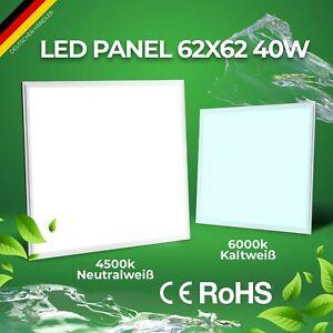 Premium LED Panel 62x62 40W Rasterdeckenleuchte Deckenleuchte Neutral/Kalt