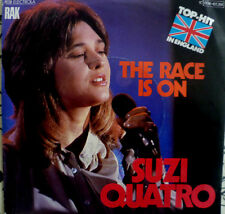 "7"" 1978 GLAM IN MINT- ! SUZI QUATRO :  The Race Is On"