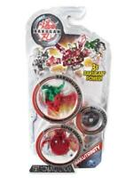 Bakugan Bakutrinity 7451 Set of 3 - Red, Red/Green, Black Legacy Toy