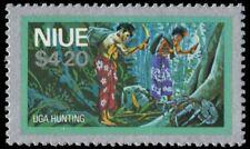 "NIUE 231 (SG258) - Uga Hunting ""1978 Printing"" (pa42028)"