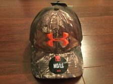 NWT $30 Under Armour Stretch Fit Hunting Camo Ball Cap M/L Realtree Xtra UA Deer