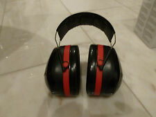 Gehörschutz, Peltor H540A-411-SV OPTIME III Kapselgehörschützer, schwarz/rot