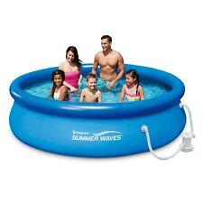 """Intex 8ft 30"""" Easy Set Pool Set - Blue (28112UK) NEW"""