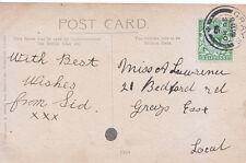 Genealogy Postcard - Family History - Lawrence - Bedford Road - Grays East U4204
