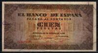 Billete España 100 pesetas Burgos G8475361