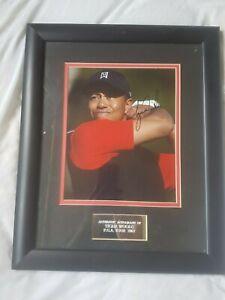 Genuine Tiger Woods Autographed Picture Golf Legend 15 Majors Tiger Slam RARE