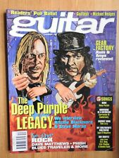 Guitar Magazine - Dec 1996 Deep Purple Michael Hedges ++