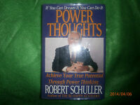 Book- Power Through Positive Thinking-Robert Schuller 1st Ed HC DJ 1993 L@@K