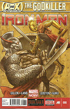 Iron Man #8 (NM)`13 Gillen/ Land
