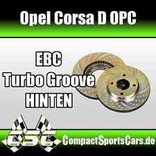 Opel Corsa D OPC 1.6 Turbo |192PS| EBC Turbo Groove Bremsscheiben - HINTEN