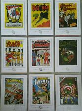 DC Legacy Famous Covers Gallery Chase Card Set FC1 - FC9 Rittenhouse