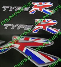 Honda Civic Type R Ep3 K20 V Tec Union Jack X 2 Pegatinas De Panel Lateral Falda