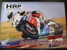 HRP Honda Team IDM SBK Honda CBR1000R #44 Danny de Boer (NED)