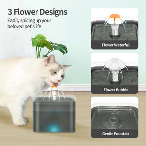 2L automatic cat drinking fountain water bowl pet dog cat drinking fountain mute